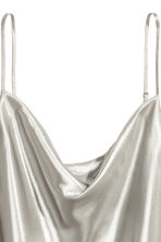 Shimmering strappy top - Silver - Ladies | H&M 3